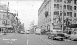 Granville [Street] and Georgia [Street] looking north