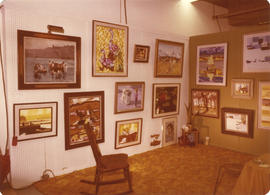 Wonderful World of Art display - D. Killins