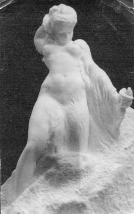 [Marble sculpture of Psyche by Sydney March]