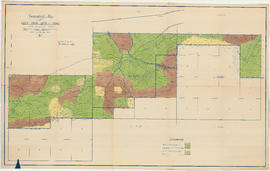 Topographical map of Lots 2638-2639 and 2640