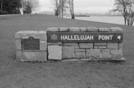 Hallelujah Point Monument