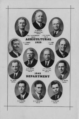 [Canadian Sugar Factories] Agricultural Department 1925-1945