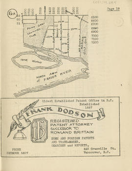 Sectional map and street directory of Vancouver, British Columbia : [Marine Drive Golf Club to Fo...
