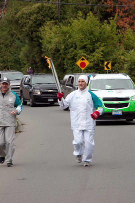 Day 001, torchbearer no. 047, Gregory Rickwood - North Saanich