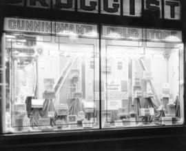Window display [of Imperial Tobacco products at] Cunningham's Drug Store