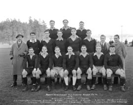 North Vancouver All Blacks Rugby Team 1933