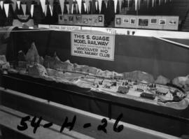 Vancouver HO Model Railway Club display of S. Guage model railway in P.N.E. Hobby Show