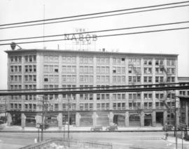 [Commercial building at Water and Cordova Streets]