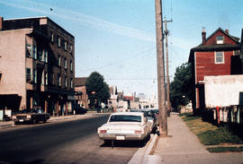 [Cordova Street looking west at Jackson Avenue.]