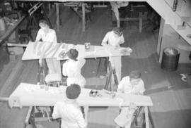 [Women at work in the Boeing plant on Sea Island]
