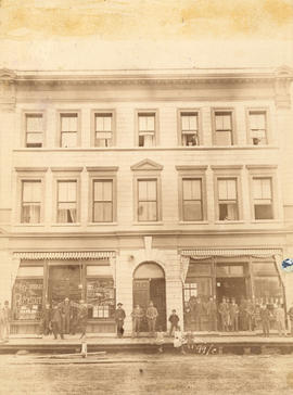 [Exterior of the Post Office Block - 309 to 313 W. Hastings Street]