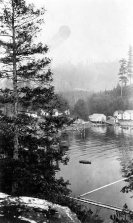 Eagle Harbour, old logging buildings