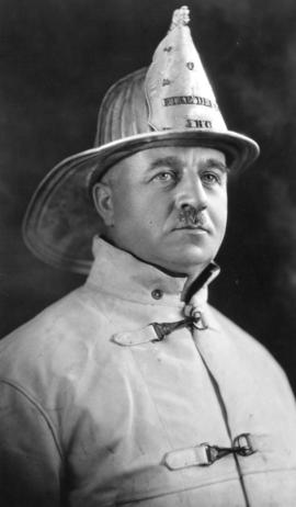 [Fire Chief C.W. Thompson]