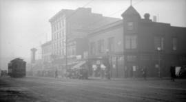 [View of the west side of the 1000 block of Granville St.]