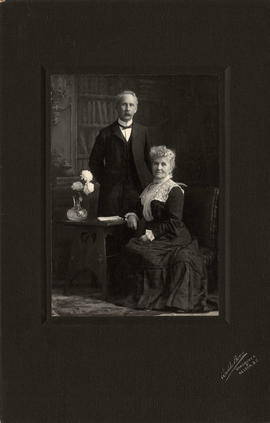 [Studio portrait of Mr. and Mrs. George Bessell]