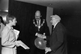 Doreen Maruska, Mike Harcourt and unidentified man