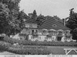 Point Grey Golf & Country Club : The Clubhouse 1922-1960