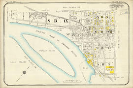 Plate 119 [Twelfth Street to Sixth Avenue to Twentieth Street/Lulu Island to Queens Avenue]