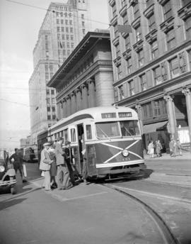 B.C. Electric one-man street car (PCC design)