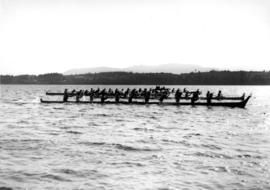 Indian War Canoe Race, Gooseberry Point