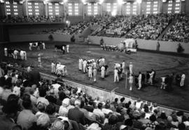 1965 P.N.E. Livestock competition in Agrodome