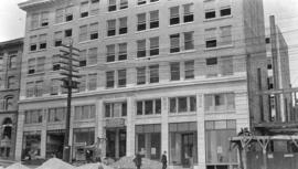 [Exterior of the Duncan Building at 119 West Pender Street]