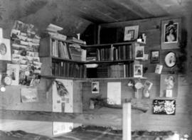 Library and bedroom [of R.W. Jackson's home at  8635 S.W. Marine Drive]