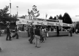 Food stand on P.N.E. grounds