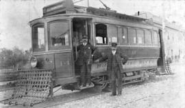North Vancouver's first streetcar