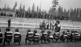 [General Baden-Powell at a scout rally in Hastings Park]