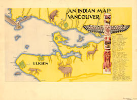 An Indian map. Vancouver