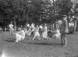 Anglo-Canadian Warehouse picnic [ladies tug-o-war]
