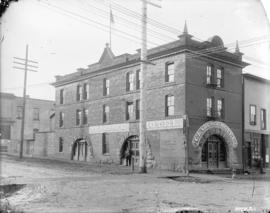 [Clarence Hotel building at Seymour and Pender Streets]