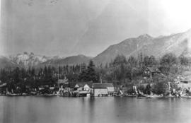 [View of North Vancouver west of Lonsdale Avenue from the water]