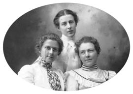 [Studio portrait of Eldridge sisters]