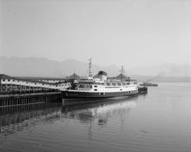 """Princess of Nanaimo"" and boats in Van. Harbour"