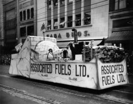 Associated Fuels float in 1949 P.N.E. Opening Day Parade