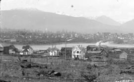 [View of Vancouver from Ninth Avenue (Broadway), between Ash and Cambie Streets]
