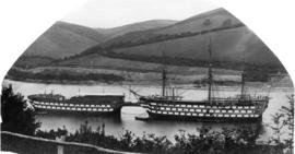 """Britannia"" and ""Hindoastan"" - Dartmouth"