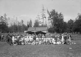 Opening day - Stanley Park bowling green