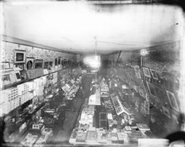[Interior of N. Caple and Co. Stationers of 546 Granville Street]