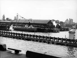 [Evans, Coleman and Evans dock from the C.N.R. dock during the visit of  King George VI and Queen...