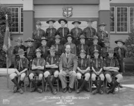 "St. George's School Boy Scouts ""B"" Troop - Summer 1954"