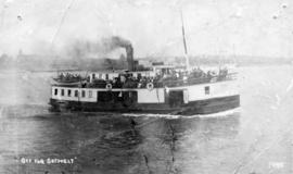 """Off For Sechelt"" [S.S. ""Sechelt""]"