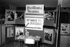 Vocational Training information booth