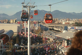 1 [Expo 86 gondola, view]
