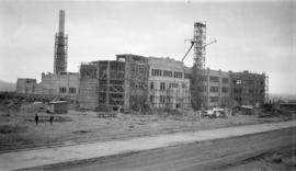 [Vancouver Technical School under construction - E. Broadway and Clinton St.]
