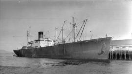 S.S. Wairata [at dock]