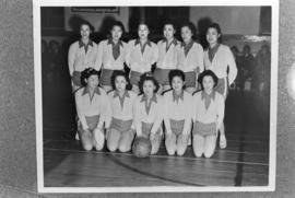 Chinese girls' basketball team
