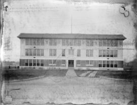 [Photograph of Magee Elementary School extension : job no.  287]